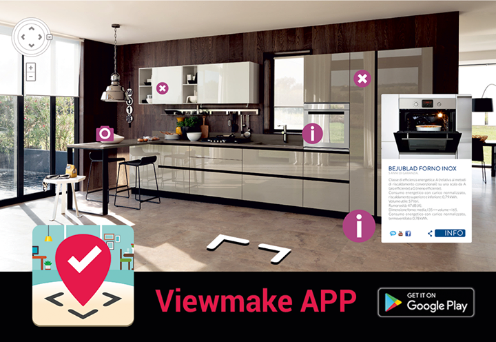 Con #Viewmake #App g...