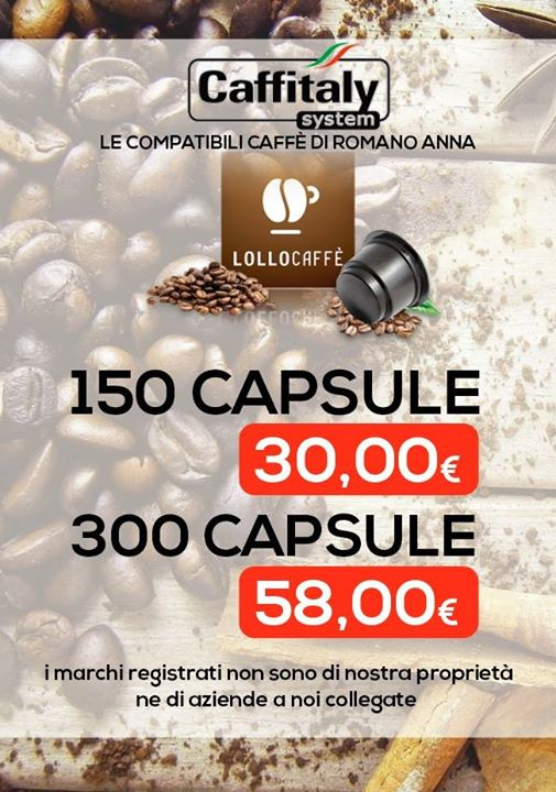 SOLO DA NOI PER CAFF...