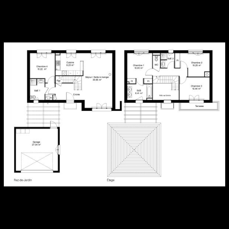 plan maison kaufman