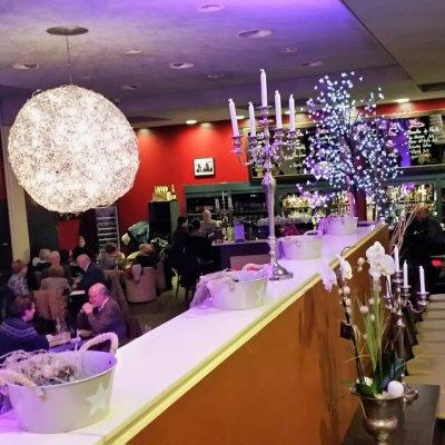 Jatetxe Bar Negozio Geneve Restaurant Cote Cour Cote Jardin Local