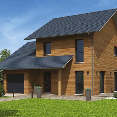 Constructeur maison ossature bois en auvergne ventana blog - Constructeur maison annecy ...